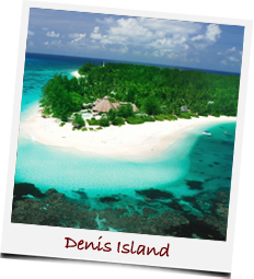 Denis Island in the Seychelles